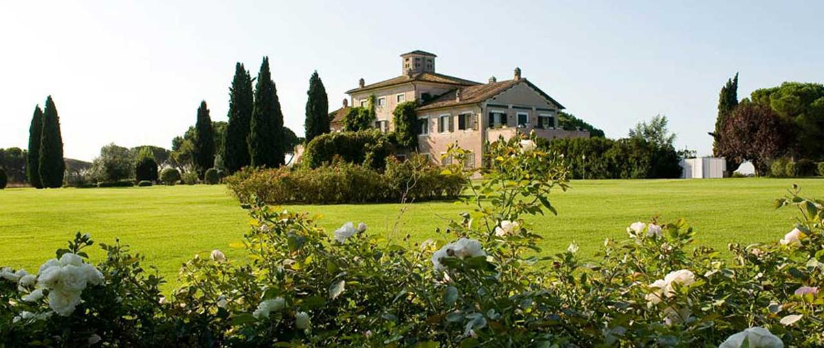 Villa in Ancient Appia street